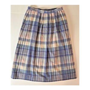 Vintage Pendleton 100% Wool Skirt